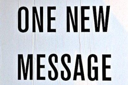 You have one new message ...